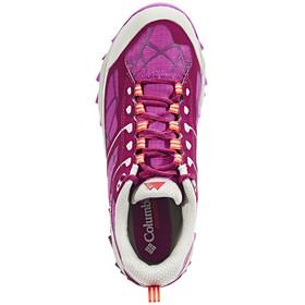 Columbia Trans Alps II Shoes Women dark raspberry/red camellia